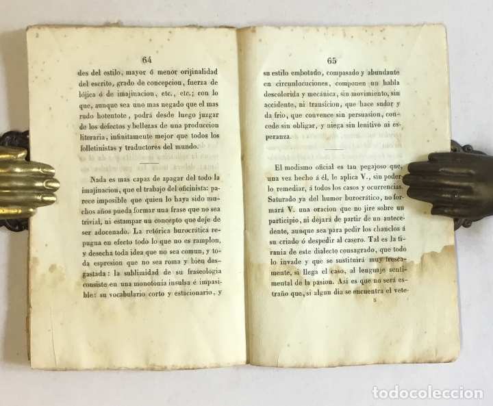 Libros antiguos: EL LIBRO VERDE Ó PENSAMIENTOS CRÍTICO-SÉRIO-BURLESCOS, SOBRE POLÍTICA, LITERATURA, COSTUMBRES... - Foto 5 - 180954545