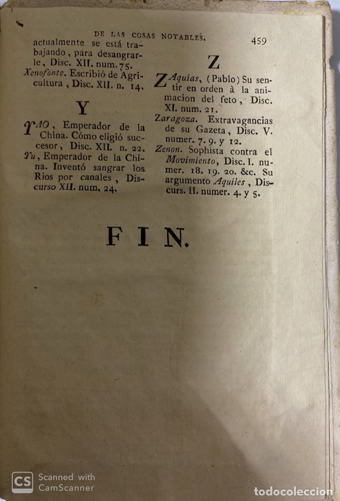 Libros antiguos: THEATRO CRITICO UNIVERSAL. GERONYMO FEYJOO. TOMO OCTAVO. PEDRO MARIN. REAL COMPAÑIA.MADRID, 1777. - Foto 8 - 181329011