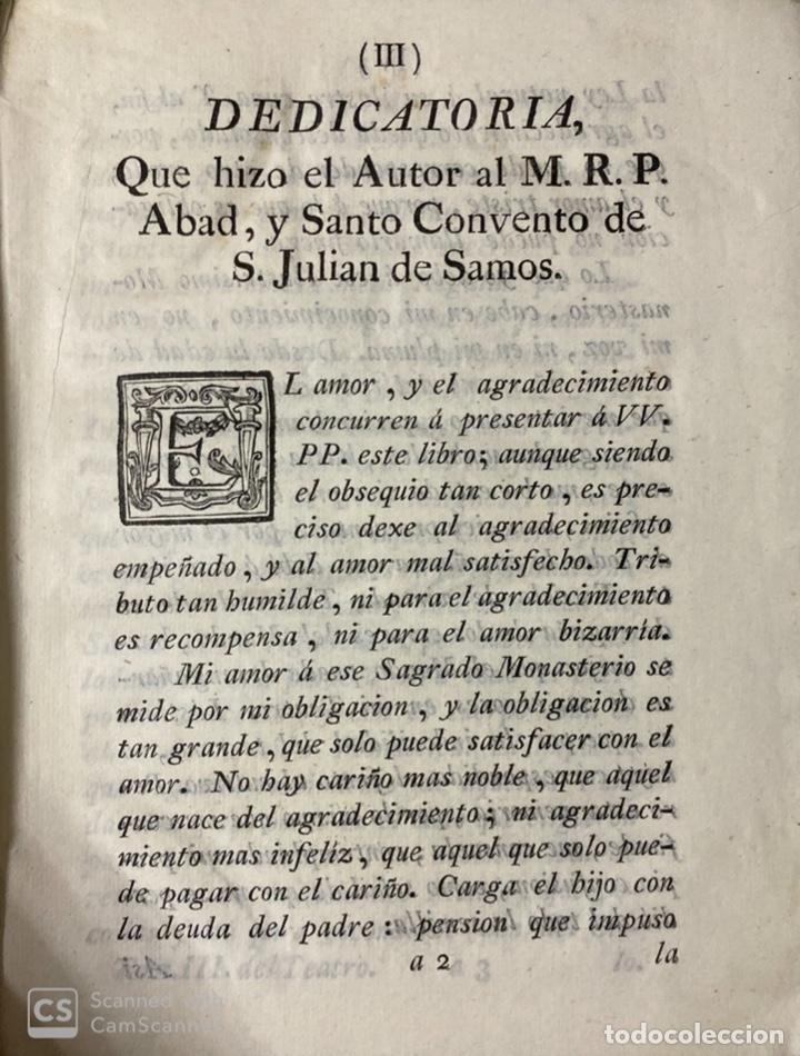 Libros antiguos: THEATRO CRITICO UNIVERSAL.GERONYMO FEYJOO.TOMO TERCERO. PANTALEON AZNAR.REAL COMPAÑIA. MADRID, 1777 - Foto 5 - 181330832