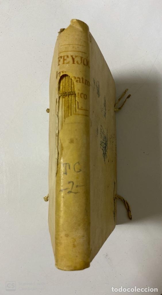 Libros antiguos: THEATRO CRITICO UNIVERSAL.GERONYMO FEYJOO.TOMO SEGUNDO. JOACHIN IBARRA.REAL COMPAÑIA. MADRID, 1777 - Foto 3 - 181331128
