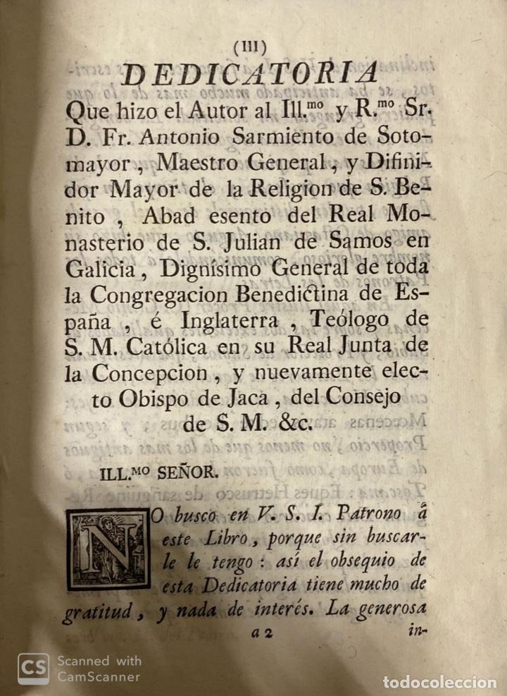 Libros antiguos: THEATRO CRITICO UNIVERSAL.GERONYMO FEYJOO.TOMO SEGUNDO. JOACHIN IBARRA.REAL COMPAÑIA. MADRID, 1777 - Foto 4 - 181331128
