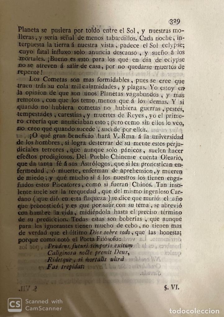 Libros antiguos: THEATRO CRITICO UNIVERSAL.GERONYMO FEYJOO.TOMO SEGUNDO. JOACHIN IBARRA.REAL COMPAÑIA. MADRID, 1777 - Foto 7 - 181331128