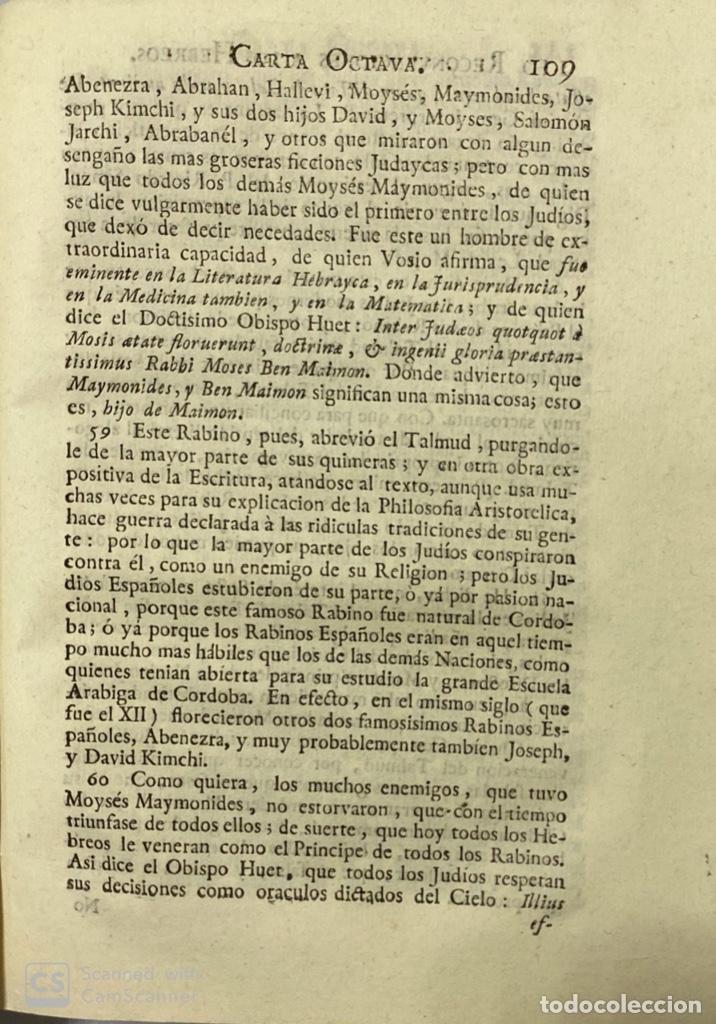 Libros antiguos: CARTAS ERUDITAS Y CURIOSAS THEATRO CRITICO UNIVERSAL.TOMO TERCERO.GERÓNYMO FEYJOÓ.MADRID,1777.LEER - Foto 7 - 181338697