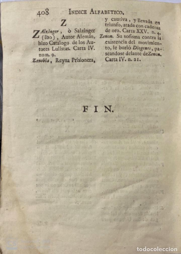 Libros antiguos: CARTAS ERUDITAS Y CURIOSAS THEATRO CRITICO UNIVERSAL.TOMO TERCERO.GERÓNYMO FEYJOÓ.MADRID,1777.LEER - Foto 9 - 181338697
