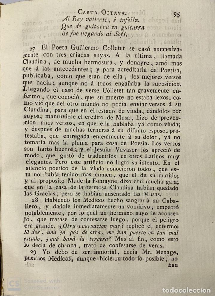 Libros antiguos: CARTAS ERUDITAS Y CURIOSAS THEATRO CRITICO UNIVERSAL.TOMO SEGUNDO.GERÓNYMO FEYJOÓ.MADRID,1778.LEER - Foto 7 - 181339205