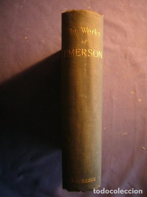 RALPH WALDO EMERSON: - WORKS - (LONDON, 1890) (Libros Antiguos, Raros y Curiosos - Pensamiento - Filosofía)