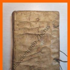 Libros antiguos: INSTITUTIONES DIALECTICAE AD PRIMAM PARTEM BREVIATI PHILOSOPHICI CURSUS... - LUDOVICO DE LOSSADA. Lote 181520143