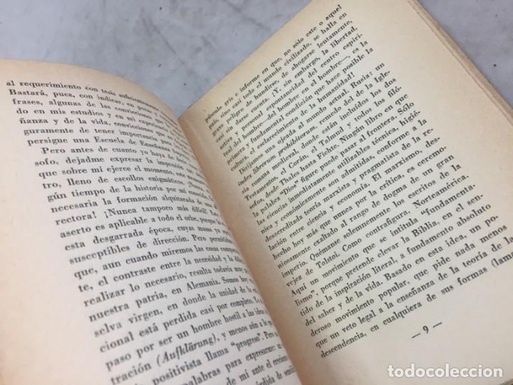 Libros antiguos: El Saber Y La Cultura - Max Scheler - Revista De Occidente - Nuevos Hechos, Nuevas Ideas 1934 - Foto 6 - 181521505