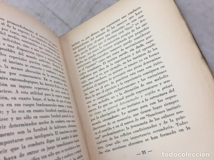 Libros antiguos: EL PUESTO DEL HOMBRE EN EL COSMOS / Max Scheler / 2ª edición 1936. Revista de Occidente - Foto 6 - 181531007