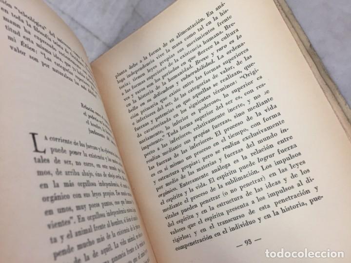 Libros antiguos: EL PUESTO DEL HOMBRE EN EL COSMOS / Max Scheler / 2ª edición 1936. Revista de Occidente - Foto 7 - 181531007