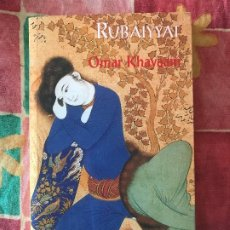 Libros antiguos: RUBAIYYAT - OMAR KHAYAAN EDITORIAL SUFI. Lote 181952866