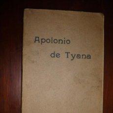 Libros antiguos: APOLONIO DE TYANA ESTUDIO CRITICO G.R.S. MEAD 1906 BARCELONA-BIBLIOTECA ORIENTALISTA. Lote 183443218