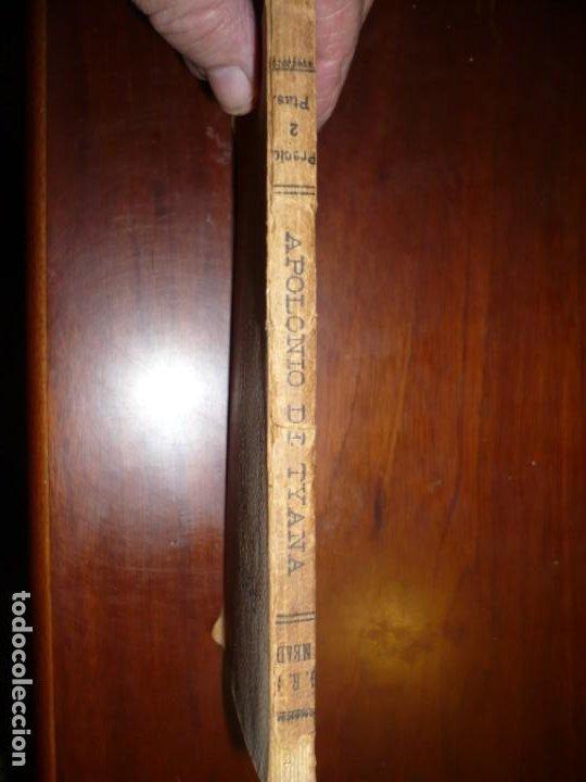 Libros antiguos: APOLONIO DE TYANA ESTUDIO CRITICO G.R.S. MEAD 1906 BARCELONA-BIBLIOTECA ORIENTALISTA - Foto 2 - 183443218