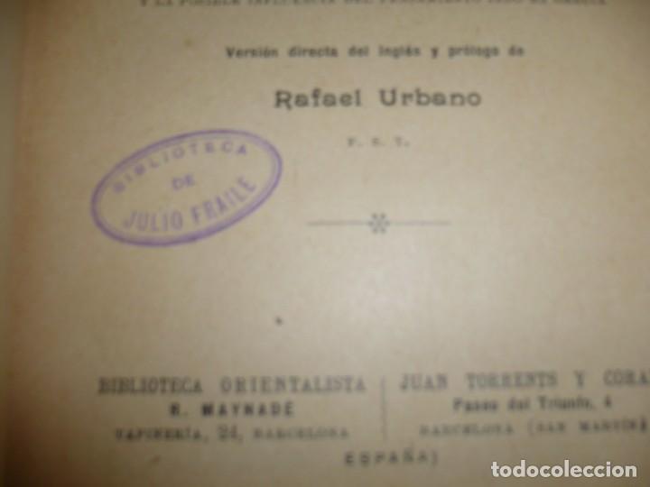 Libros antiguos: APOLONIO DE TYANA ESTUDIO CRITICO G.R.S. MEAD 1906 BARCELONA-BIBLIOTECA ORIENTALISTA - Foto 5 - 183443218