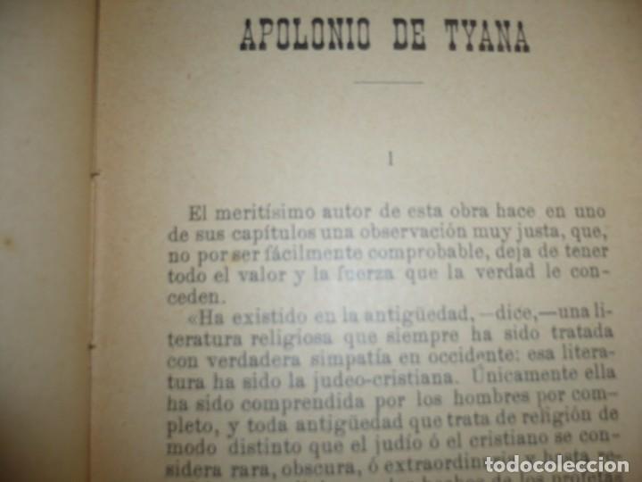 Libros antiguos: APOLONIO DE TYANA ESTUDIO CRITICO G.R.S. MEAD 1906 BARCELONA-BIBLIOTECA ORIENTALISTA - Foto 7 - 183443218