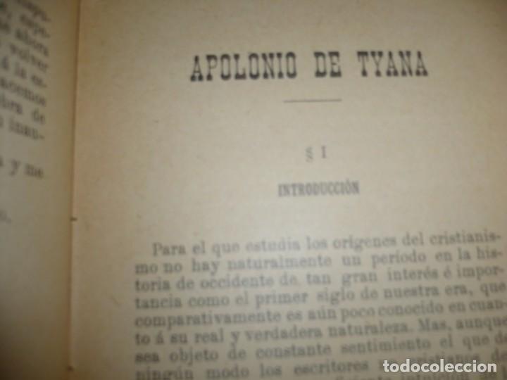 Libros antiguos: APOLONIO DE TYANA ESTUDIO CRITICO G.R.S. MEAD 1906 BARCELONA-BIBLIOTECA ORIENTALISTA - Foto 9 - 183443218