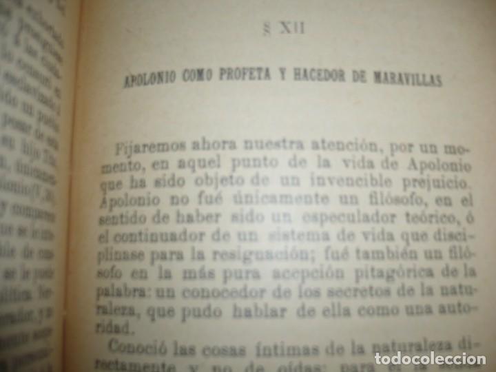 Libros antiguos: APOLONIO DE TYANA ESTUDIO CRITICO G.R.S. MEAD 1906 BARCELONA-BIBLIOTECA ORIENTALISTA - Foto 11 - 183443218