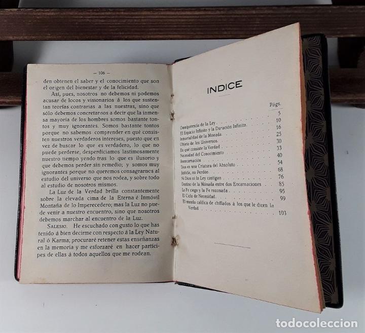 Libros antiguos: LEY NATURAL. DIÁLOGO ENTRE OCTAVIO Y SALESIO. J. GRANÉS. IMP. MODERNA. 1926. - Foto 6 - 183763878
