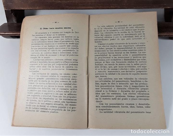 Libros antiguos: VALOR DE LA ÉTICA EN EL DEBER. RAMÓN MAYNADÉ. BIBL. ORI. R. MAYNADÉ. 1912. - Foto 3 - 183766315