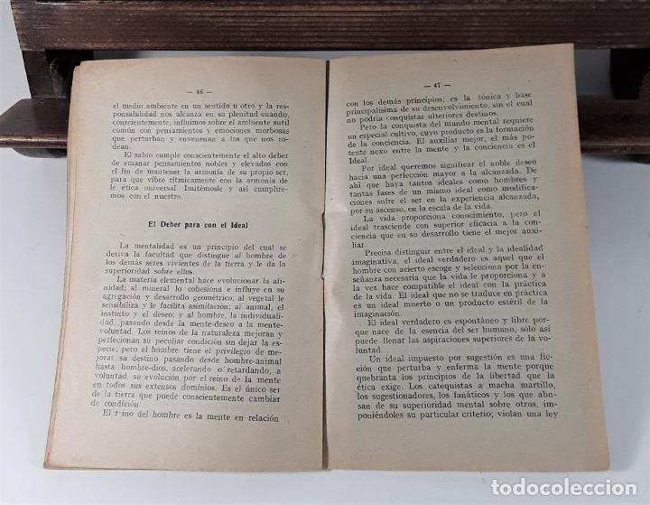 Libros antiguos: VALOR DE LA ÉTICA EN EL DEBER. RAMÓN MAYNADÉ. BIBL. ORI. R. MAYNADÉ. 1912. - Foto 4 - 183766315