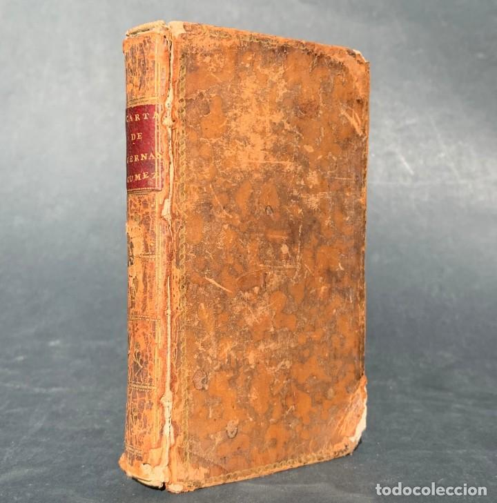 1794 - CARTA DE DON CARLOS DE LOS RIOS, XXII SEÑOR Y VI CONDE DE FERNAN-NÚÑEZ, A SUS HIJOS (Libros Antiguos, Raros y Curiosos - Pensamiento - Filosofía)