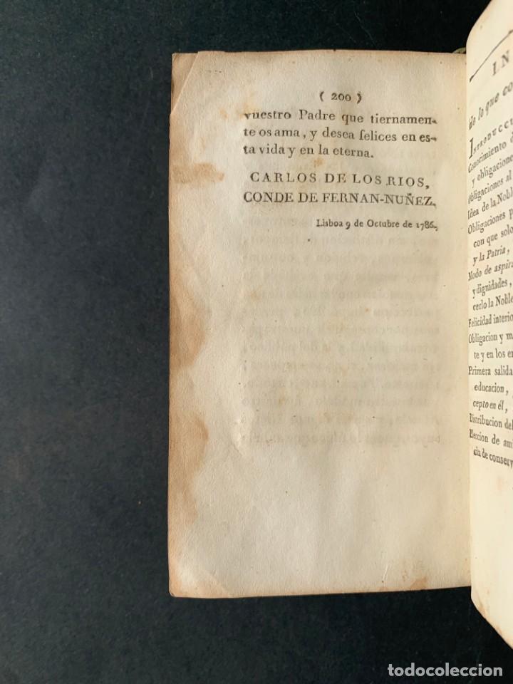 Libros antiguos: 1794 - CARTA DE DON CARLOS DE LOS RIOS, XXII SEÑOR Y VI CONDE DE FERNAN-NÚÑEZ, A SUS HIJOS - Foto 8 - 184079506