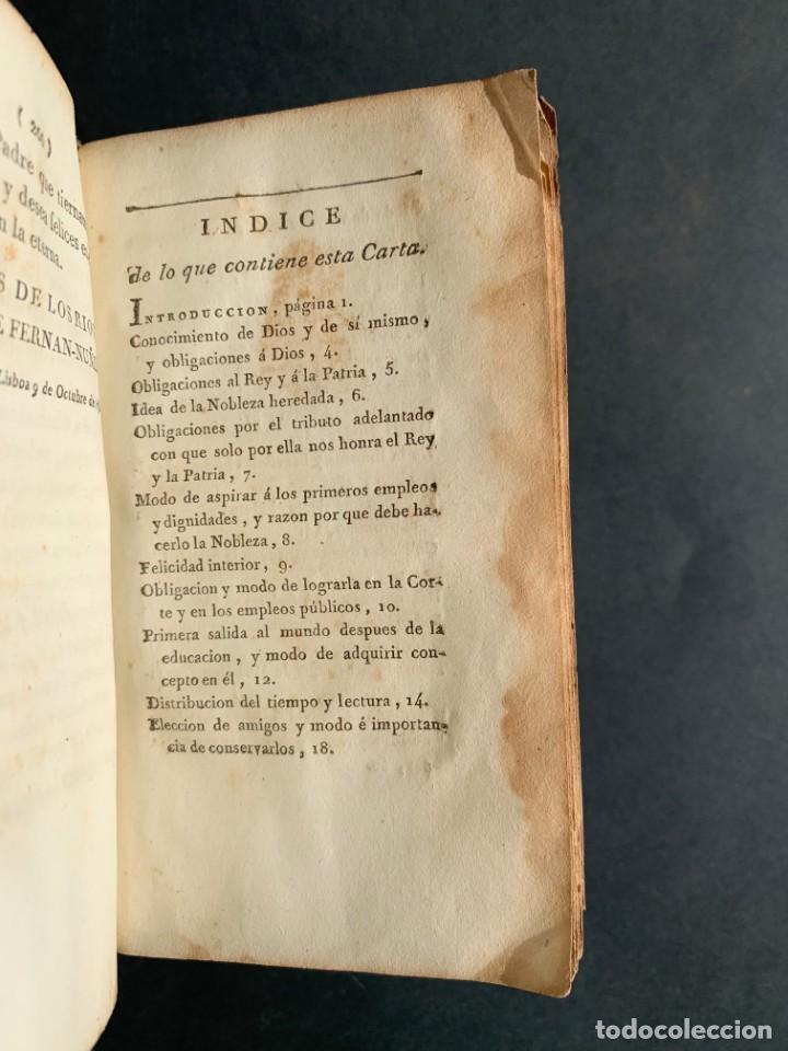 Libros antiguos: 1794 - CARTA DE DON CARLOS DE LOS RIOS, XXII SEÑOR Y VI CONDE DE FERNAN-NÚÑEZ, A SUS HIJOS - Foto 9 - 184079506