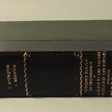Libros antiguos: ÉDITIONS DU MONDE NOUVEAU. 3 EJEMPLARES EN 1 VOLUM. VARIOS AUTORES. PARÍS.. Lote 184629047