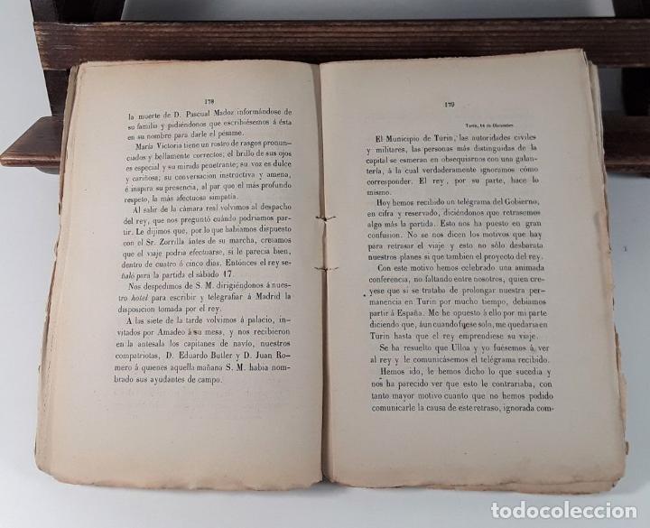 Libros antiguos: MEMORIAS DE UN COSTITUYENTE. V. BALAGUER. LIB. MEDÍNA Y NAVARRO. MADRID. 1872. - Foto 5 - 184712737