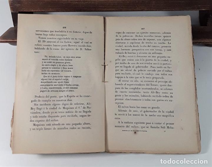 Libros antiguos: MEMORIAS DE UN COSTITUYENTE. V. BALAGUER. LIB. MEDÍNA Y NAVARRO. MADRID. 1872. - Foto 6 - 184712737