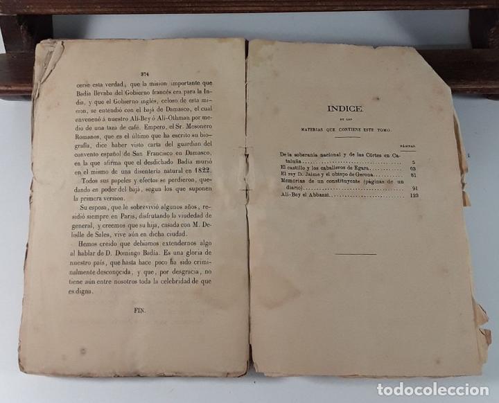 Libros antiguos: MEMORIAS DE UN COSTITUYENTE. V. BALAGUER. LIB. MEDÍNA Y NAVARRO. MADRID. 1872. - Foto 7 - 184712737