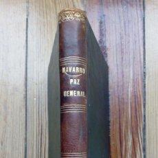 Libros antiguos: PAZ GENERAL DE LA IGLESIA Y EL MUNDO PEDRO ALVARO NAVARRO 1840 MUY RARO LIBRO NO DISPONIBLE EN RED. Lote 185706045