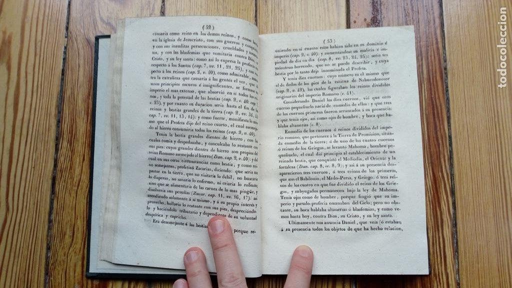 Libros antiguos: PAZ GENERAL DE LA IGLESIA Y EL MUNDO PEDRO ALVARO NAVARRO 1840 MUY RARO LIBRO NO DISPONIBLE EN RED - Foto 3 - 185706045