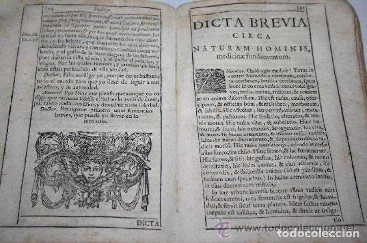 Libros antiguos: NUEVA FILOSOFIA DE LA NATURALEZA DEL HOMBRE. OLIVA SABUCO F. LOPEZ MAD 1728 - Foto 8 - 190212001