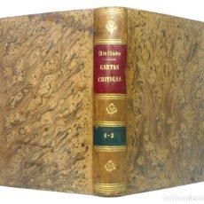 Libros antiguos: 1881 - CARTAS CRÍTICAS QUE ESCRIBIÓ EL FILÓSOFO RANCIO - CURIOSA Y RARA OBRA REACCIONARIA. Lote 191539171
