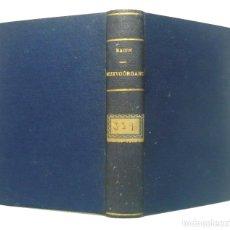 Libros antiguos: 1892 - FRANCIS BACON: NUEVO ORGANO - NOVUM ORGANUM - FILOSOFÍA, LÁGICA - COMPLETO EN 3 TOMOS. Lote 191594041