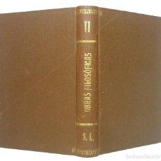 Libros antiguos: 1884 - TOMÁS DE AQUINO: TEODICEA - SUMMA CONTRA GENTILES - FILOSOFÍA, TEOLOGÍA, TOMISMO. Lote 191594352