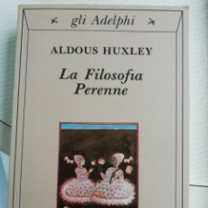 Libros antiguos: LA FILOSOFÍA PERENNE ITALIANO. Lote 193609830