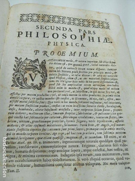 Libros antiguos: Filosofía Thomistica juxta inconcussa.. P. Fr. Antonio Goudin. Tomus Secundus. Matriti.1763. - Foto 5 - 193704812
