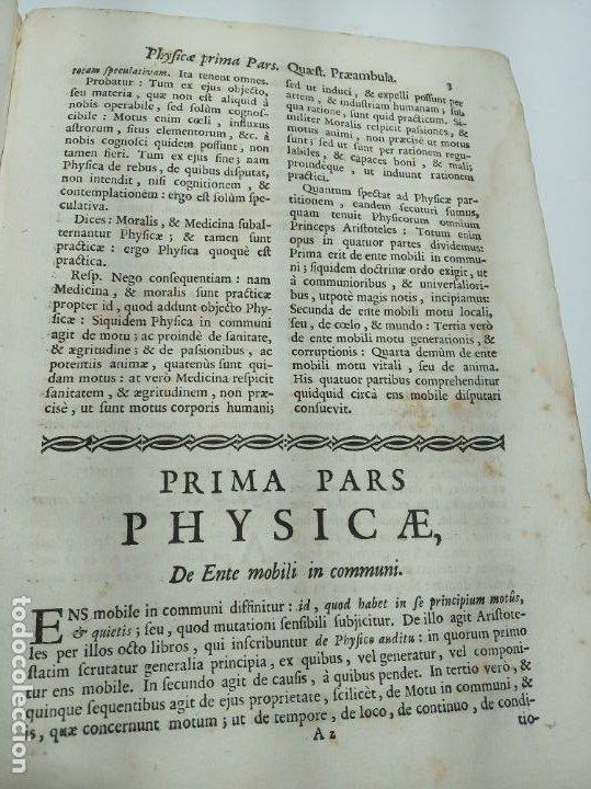 Libros antiguos: Filosofía Thomistica juxta inconcussa.. P. Fr. Antonio Goudin. Tomus Secundus. Matriti.1763. - Foto 6 - 193704812