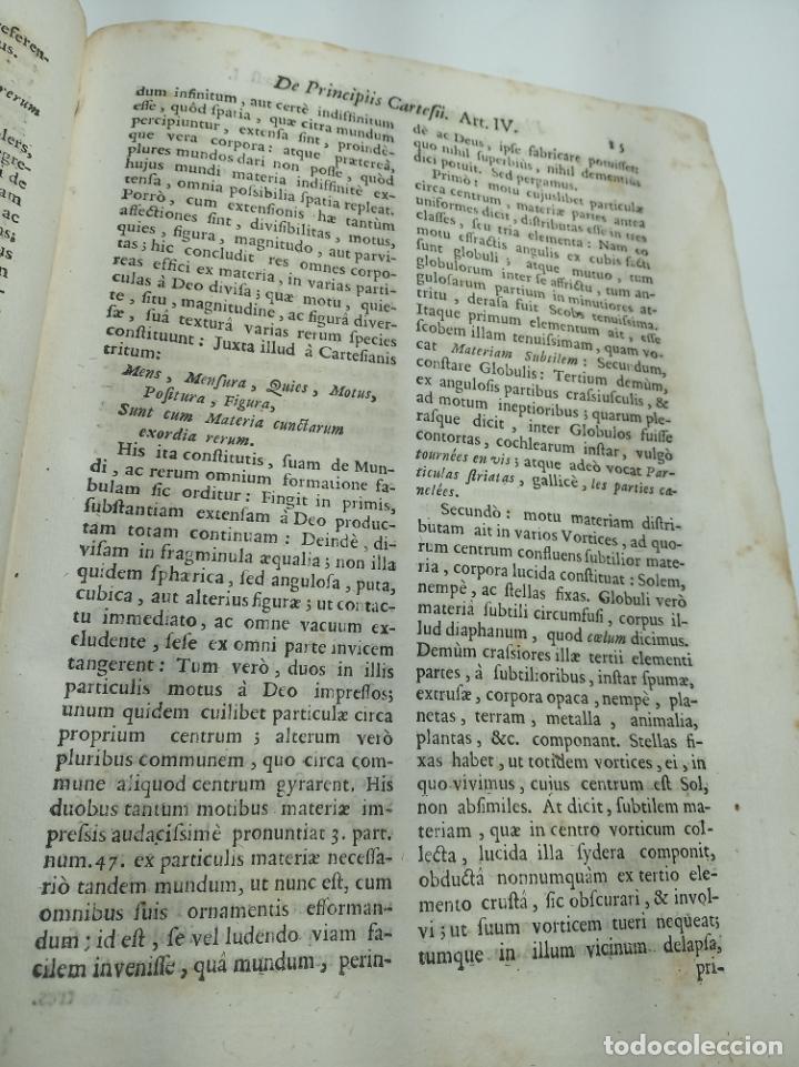 Libros antiguos: Filosofía Thomistica juxta inconcussa.. P. Fr. Antonio Goudin. Tomus Secundus. Matriti.1763. - Foto 7 - 193704812