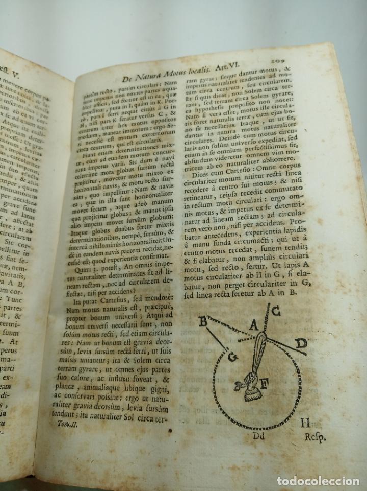 Libros antiguos: Filosofía Thomistica juxta inconcussa.. P. Fr. Antonio Goudin. Tomus Secundus. Matriti.1763. - Foto 8 - 193704812