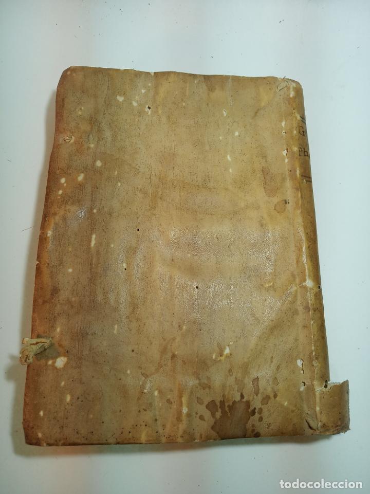 Libros antiguos: Filosofía Thomistica juxta inconcussa.. P. Fr. Antonio Goudin. Tomus Secundus. Matriti.1763. - Foto 16 - 193704812