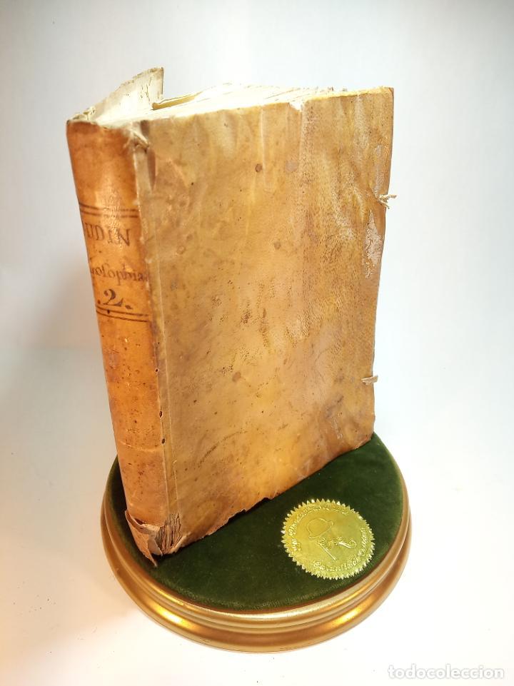 Libros antiguos: Filosofía Thomistica juxta inconcussa.. P. Fr. Antonio Goudin. Tomus Secundus. Matriti.1763. - Foto 3 - 193704812