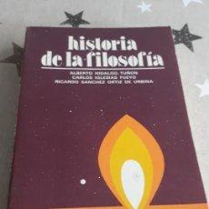 Libros antiguos: LIBRO HISTORIA DE LA FILOSOFÍA ALBERTO HIDALGO. Lote 194168311