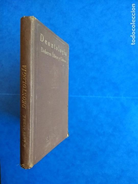 Libros antiguos: DEONTOLOGÍA. DEBERES ÉTICOS Y CÍVICOS. ELOY LUIS ANDRÉ. SUCESORES DE RIVADENEYRA. MADRID, 1928. - Foto 2 - 194184105
