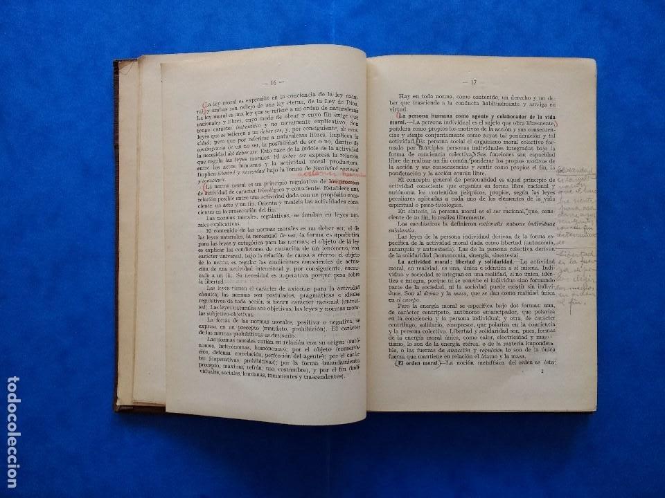 Libros antiguos: DEONTOLOGÍA. DEBERES ÉTICOS Y CÍVICOS. ELOY LUIS ANDRÉ. SUCESORES DE RIVADENEYRA. MADRID, 1928. - Foto 7 - 194184105