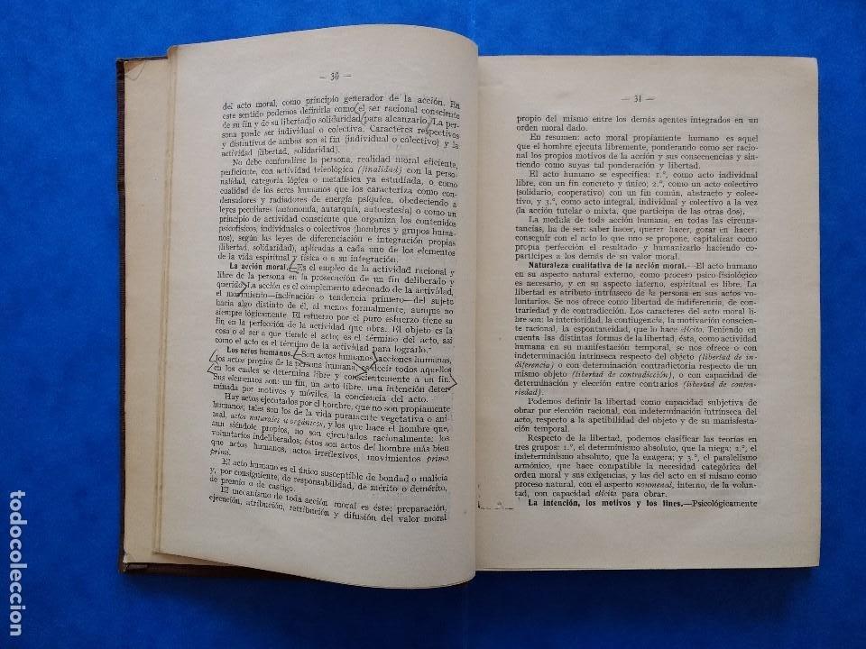 Libros antiguos: DEONTOLOGÍA. DEBERES ÉTICOS Y CÍVICOS. ELOY LUIS ANDRÉ. SUCESORES DE RIVADENEYRA. MADRID, 1928. - Foto 8 - 194184105