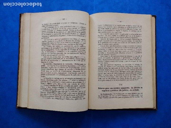 Libros antiguos: DEONTOLOGÍA. DEBERES ÉTICOS Y CÍVICOS. ELOY LUIS ANDRÉ. SUCESORES DE RIVADENEYRA. MADRID, 1928. - Foto 10 - 194184105