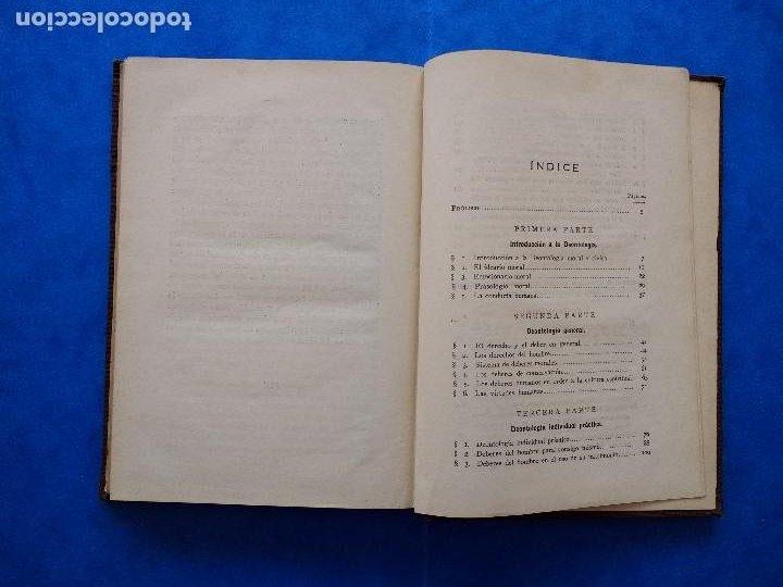 Libros antiguos: DEONTOLOGÍA. DEBERES ÉTICOS Y CÍVICOS. ELOY LUIS ANDRÉ. SUCESORES DE RIVADENEYRA. MADRID, 1928. - Foto 11 - 194184105